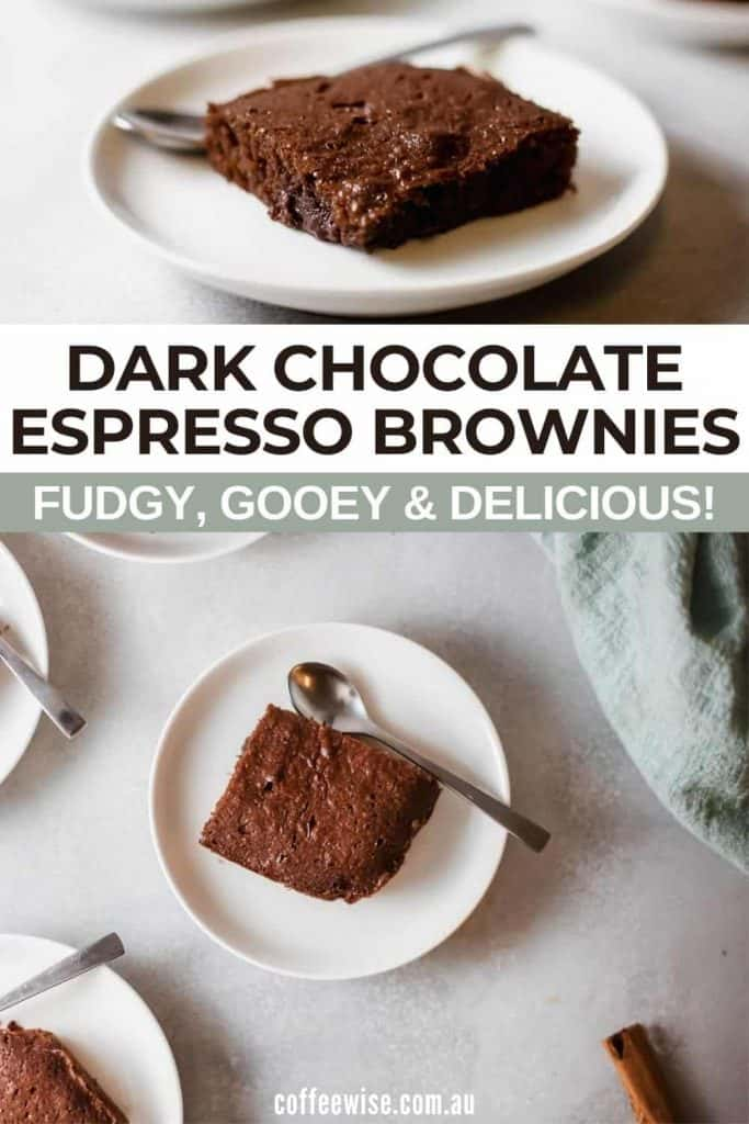 DARK CHOCOLATE ESPRESSO BROWNIES RECIPE
