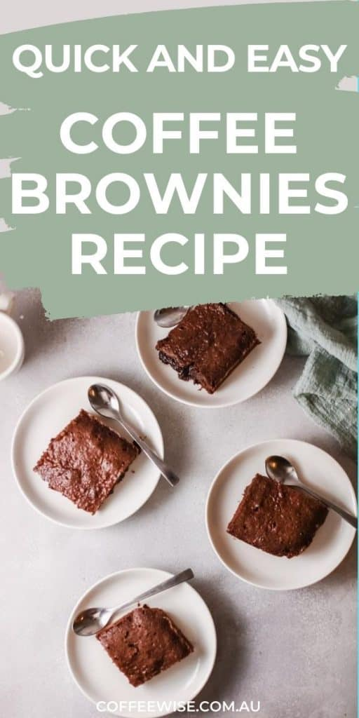 easy coffee brownies recipe with espresso powder