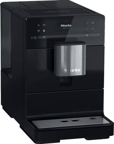 Miele black automatic espresso machine