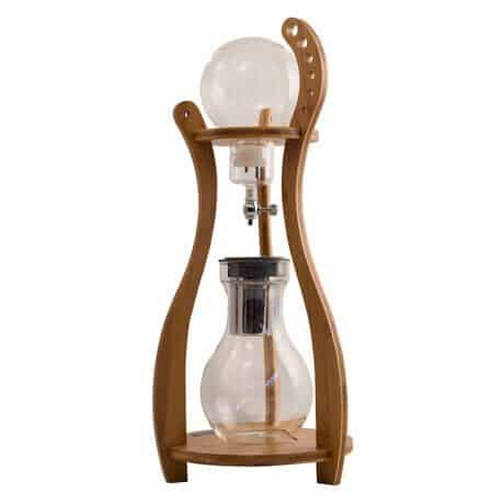 Tiamo bamboo cold drip coffee maker