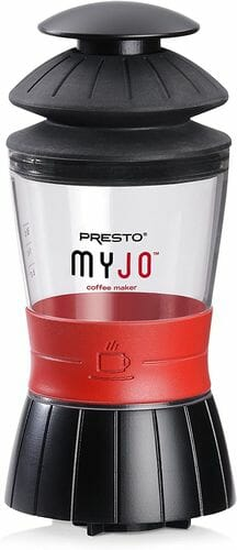 Presto MyJo capsule coffee maker