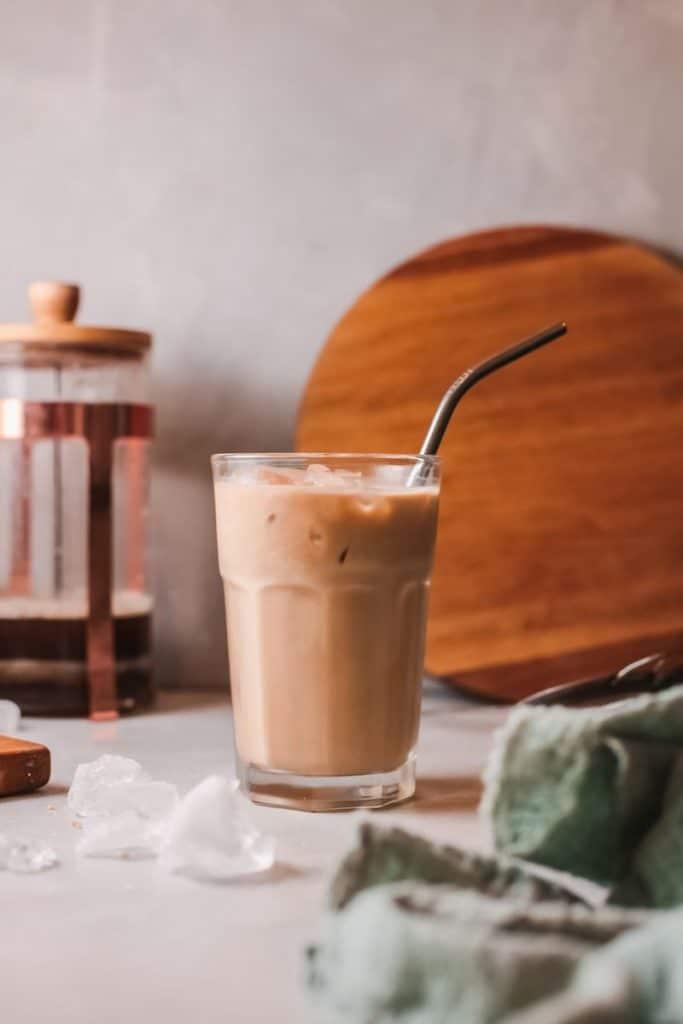 french vanilla latte iced