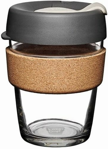 KeepCup reusable coffee cup glass