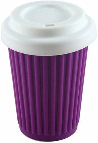 ONYA Reuseable coffee cup with silicone lid