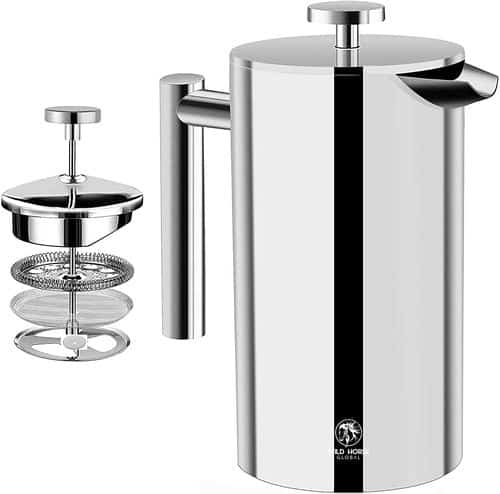 Wild Horse stainless steel coffee maker