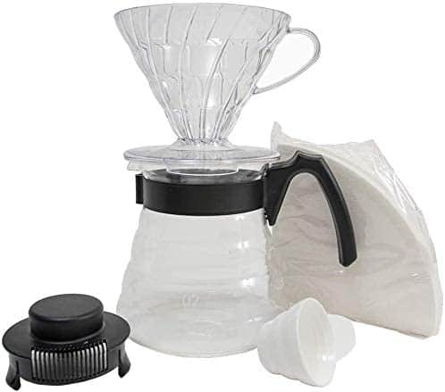 Hario pour over coffee starter kit